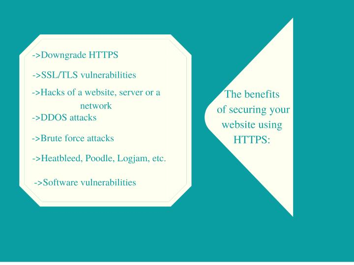 ->Downgrade HTTPS