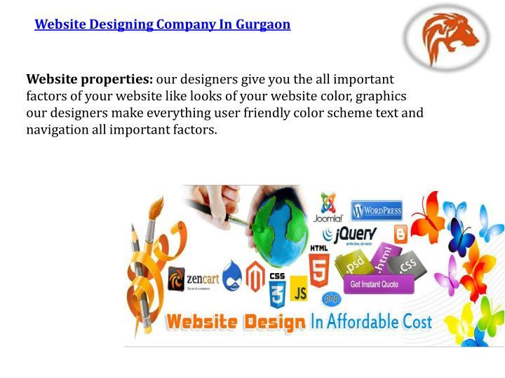 Website Designing Company In