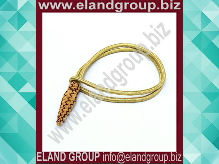 Sword knot british army gold mahroon