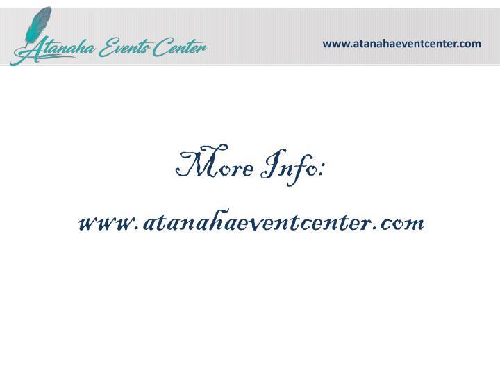 www.atanahaeventcenter.com