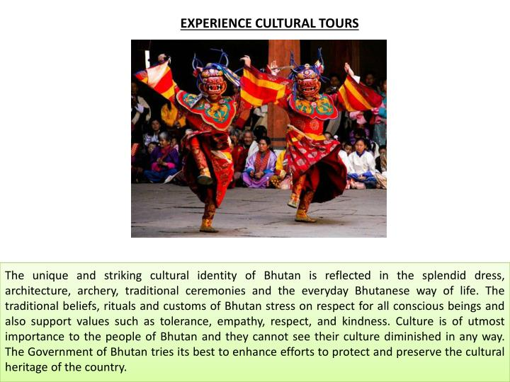 EXPERIENCE CULTURAL