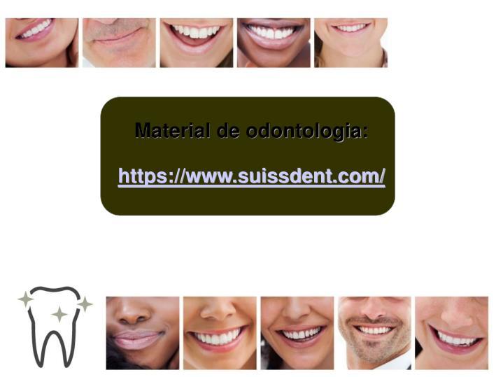 Material de odontologia: