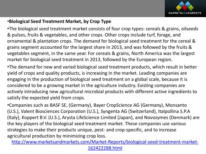 Biological Seed Treatment Market, by Crop Type