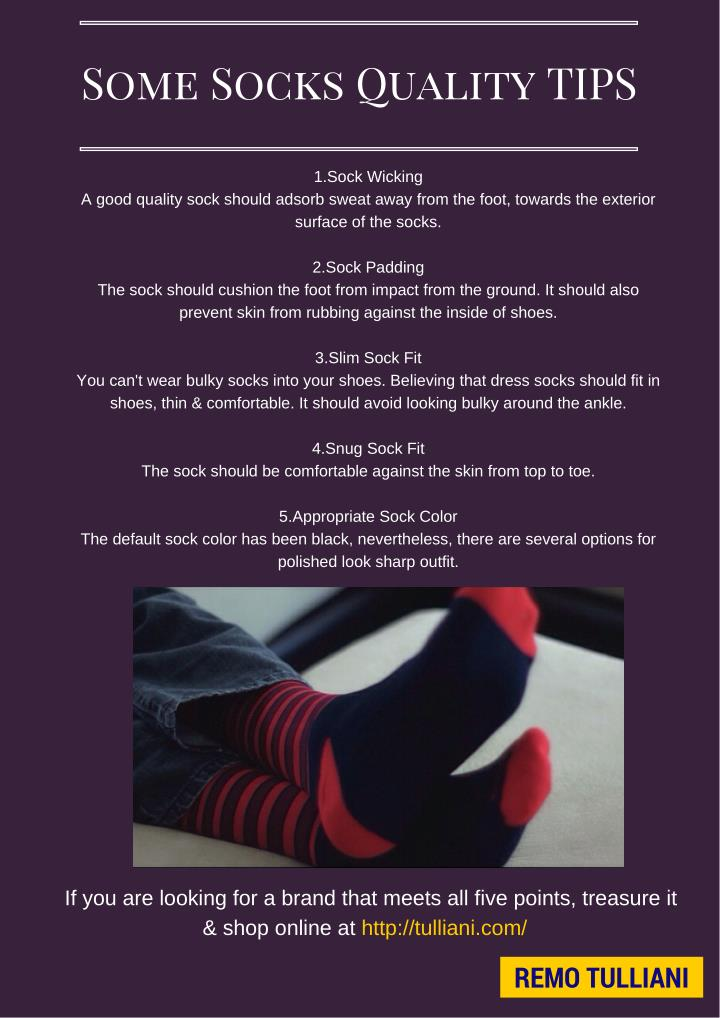 Some Socks Quality TIPS