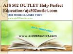 ajs 502 outlet help perfect education ajs502outlet com
