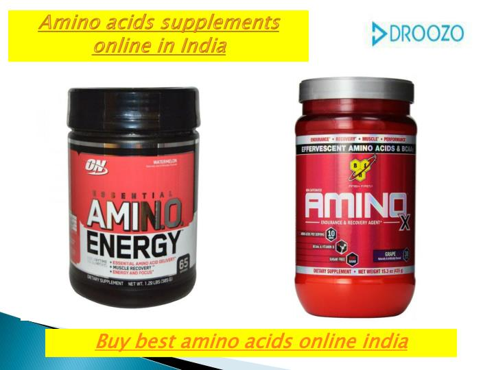 Amino acids supplements online in India