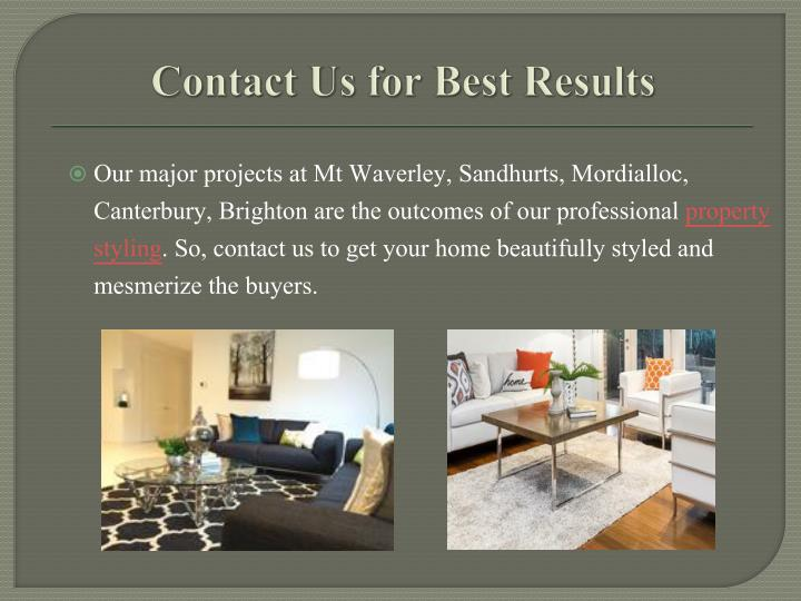 Contact Us for Best Results
