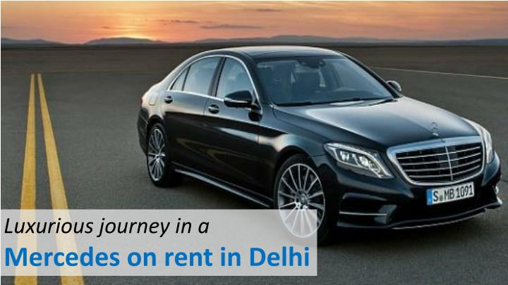 Luxurious journey in a
