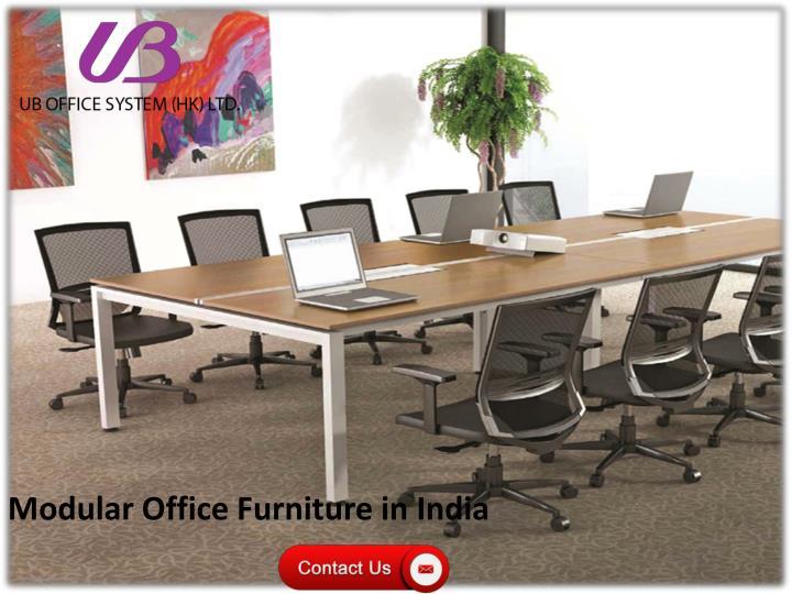 Modular Office Furniture in India