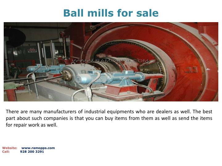 Ball mills for sale