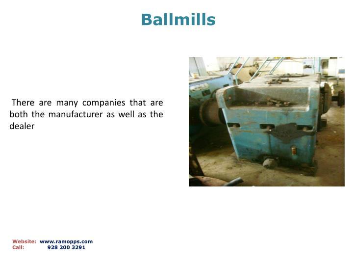 Ballmills