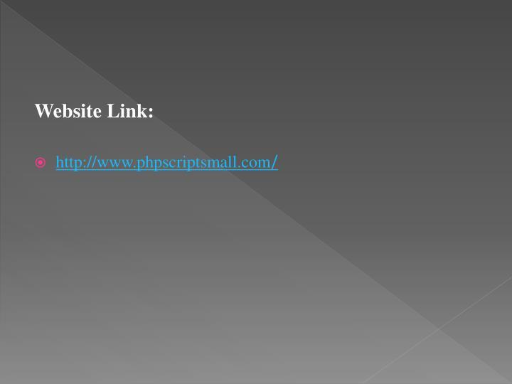 Website Link: