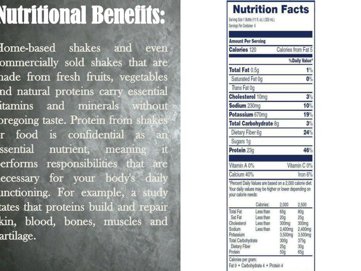 Nutritional Benefits: