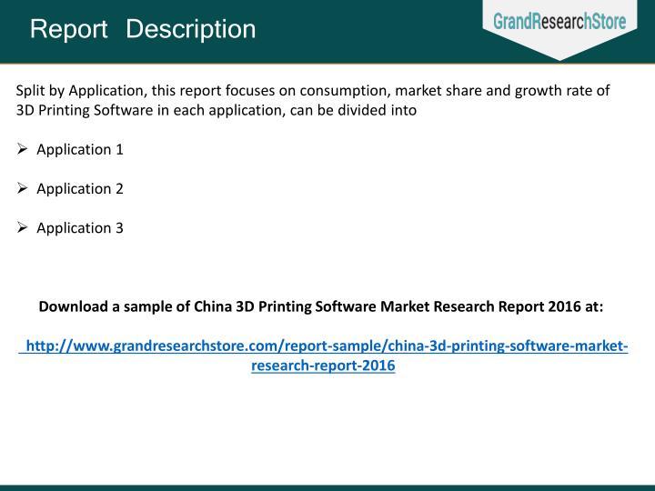 Report Description