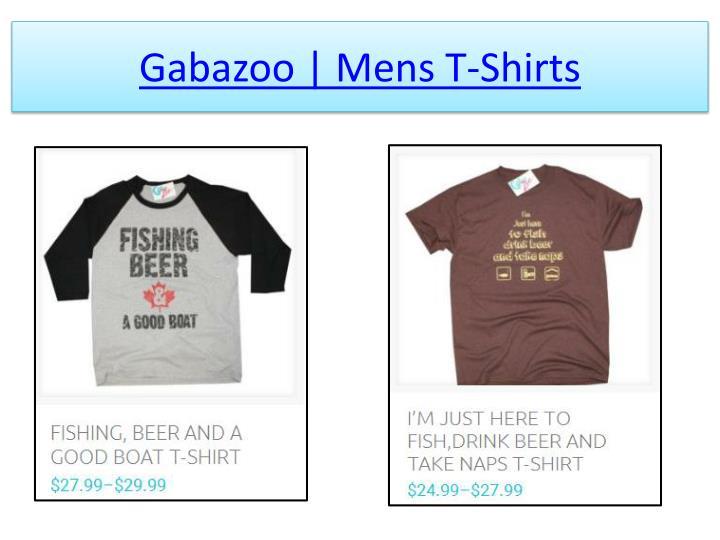 Gabazoo mens t shirts