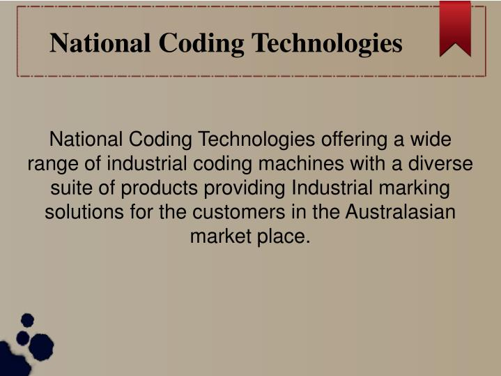 National Coding Technologies