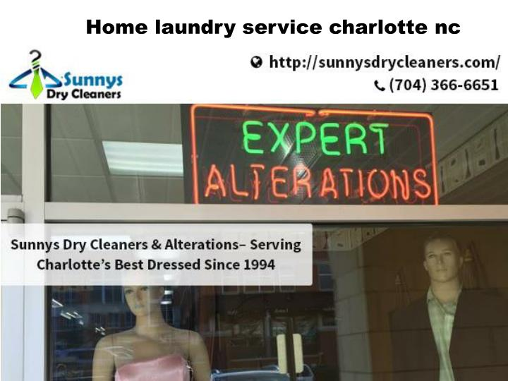 Home laundry service charlotte