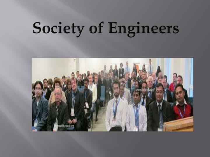 Society of Engineers