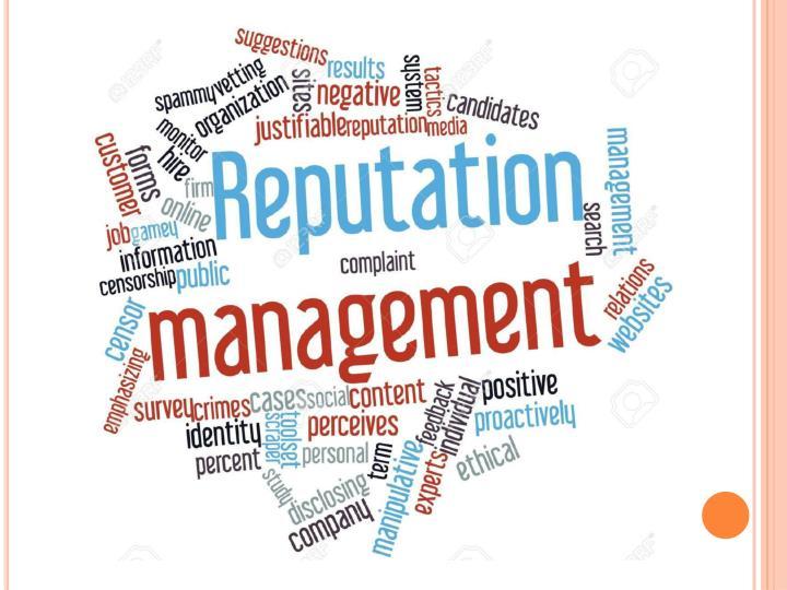 Online reputation management company guidance
