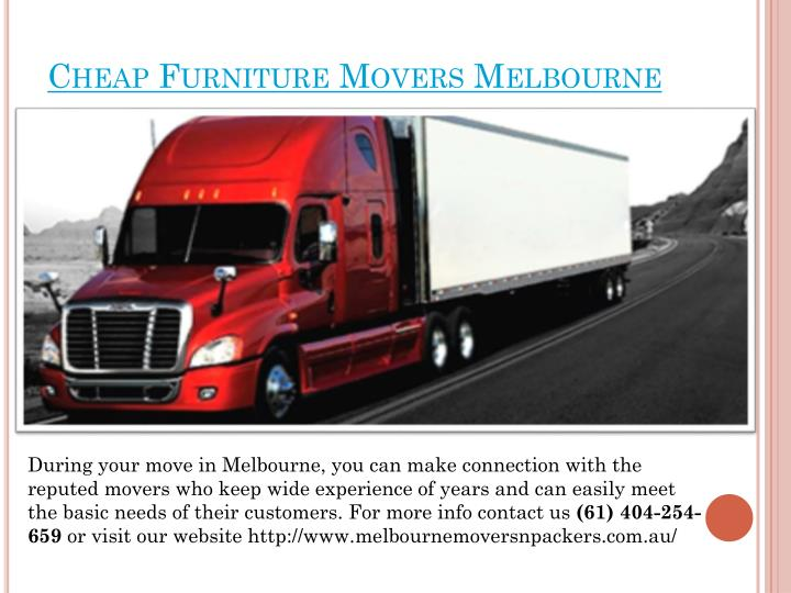 cheap furniture movers melbourne n.