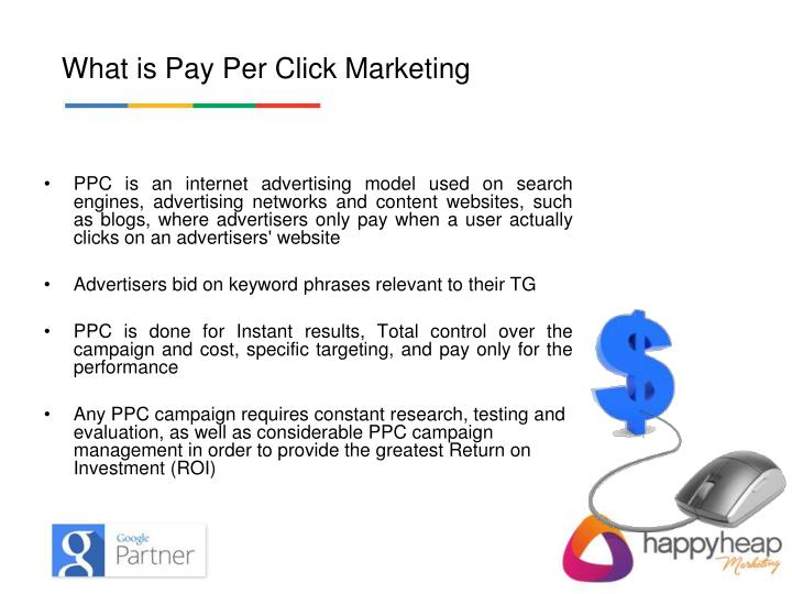What is Pay Per Click ?