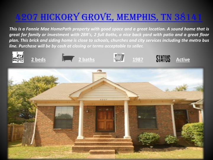 4207 hickory grove memphis tn 38141
