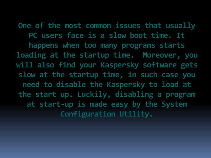 One of the most common issues that usually PC users face is a slow boot time. It happens when too ma...