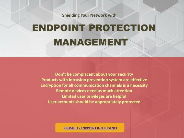 Shielding Your Network with