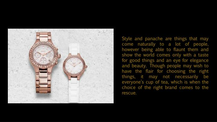 Style and panache are things that may come naturally to a lot of people, however being able to flaun...