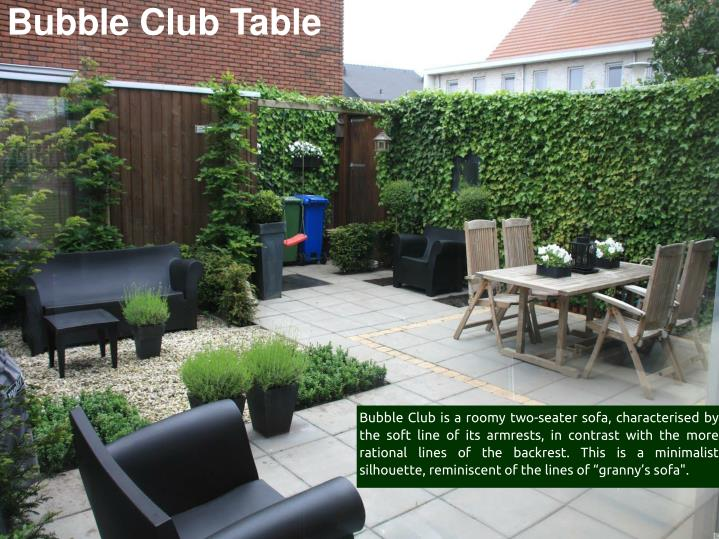 Bubble Club Table