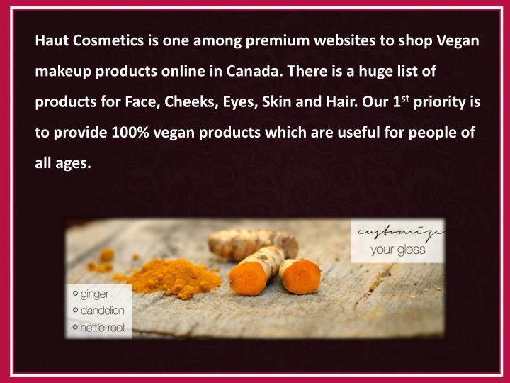 Haut Cosmetics is
