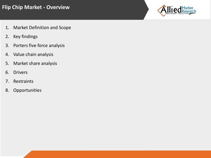 Flip Chip Market - Overview