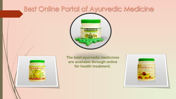 Best Online Portal of Ayurvedic Medicine