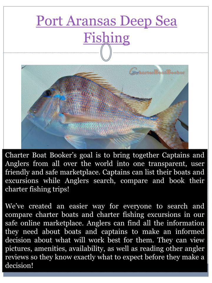 Port Aransas Deep Sea Fishing