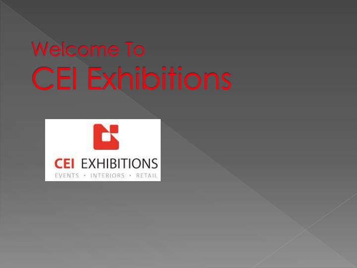 Welcome to cei exhibitions