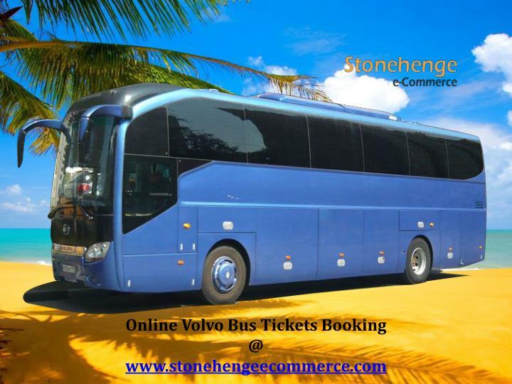Online Volvo Bus Tickets Booking