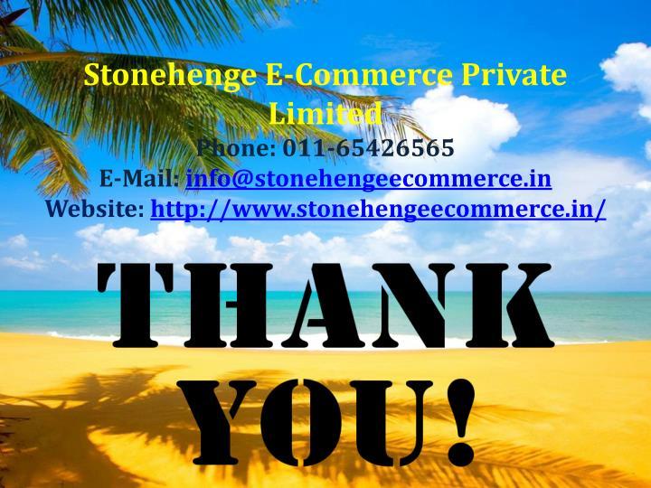 Stonehenge E-Commerce Private