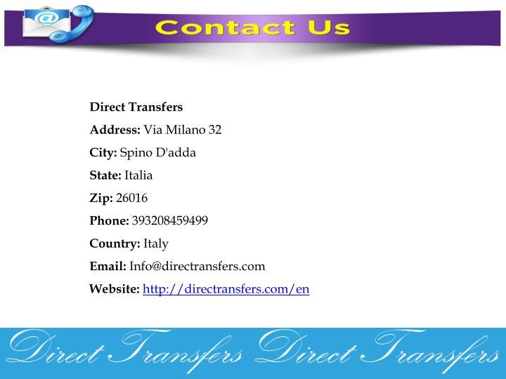 Direct Transfers