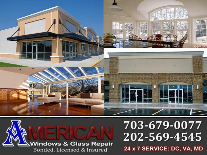 American windows and glass repair service