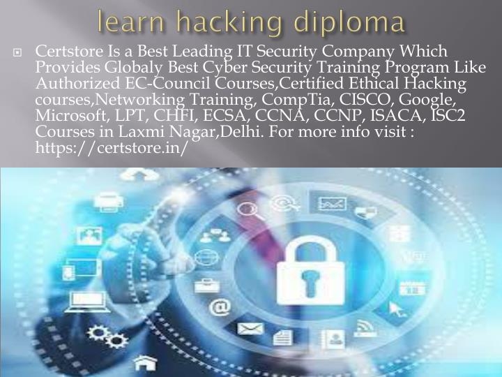 learn hacking diploma