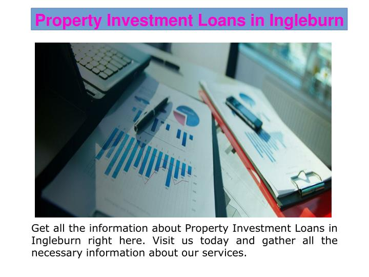 Property Investment Loans in Ingleburn