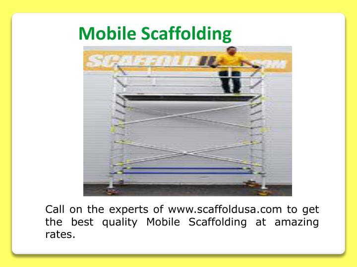 Mobile Scaffolding