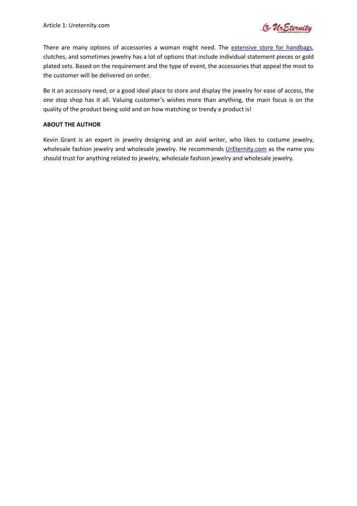 Article 1: Ureternity.com