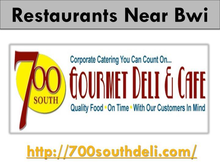 Restaurants Near
