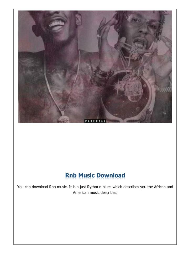 Rnb Music Download