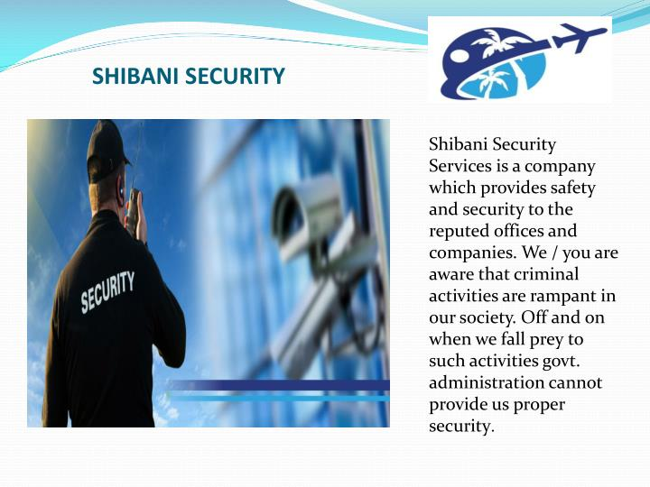 SHIBANI SECURITY
