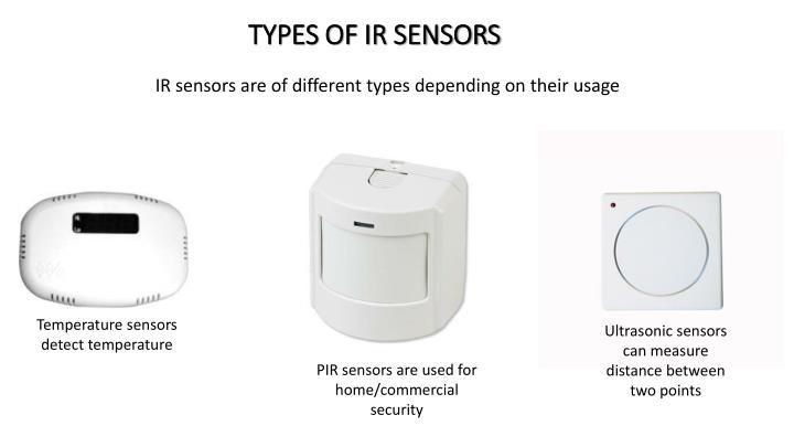 Types of ir sensors