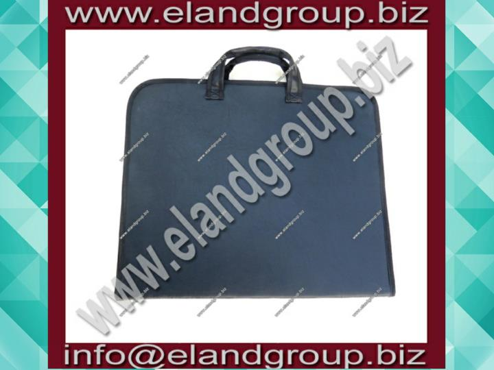 Special apron case with blue inside