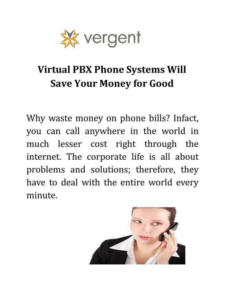 virtual pbx phone systems will save your money for good n.