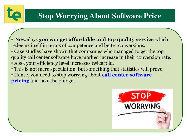 Stop Worrying About Software Price